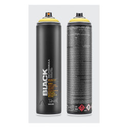 Montana Black Spray Paint - Easter Yellow, 400 ml can