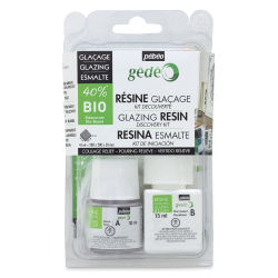 Pebeo Gedeo Bio-Based Resin - Glazing Resin Discovery Kit