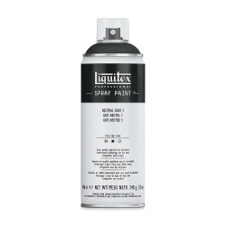 Liquitex Professional Spray Paint - Neutral Gray 3, 400 ml can