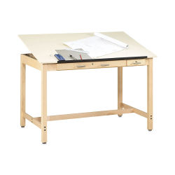 Diversified Woodcrafts Instructor Drafting Table - 72'' Wide