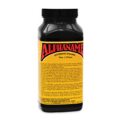 Alpha6 Alphanamel Lettering Enamel - McKeag's Black, 473 ml, Bottle