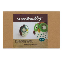 Woolbuddy Needle Felting Kit - Owl Kit