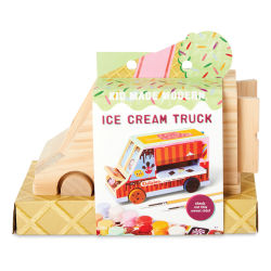 Kid Made Modern Paint Your Own Kit - Ice Cream Truck