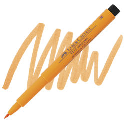 Orange Glaze, Brush Nib
