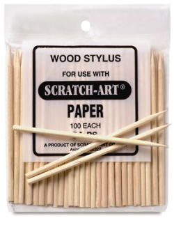 Scratch-Art Sticks