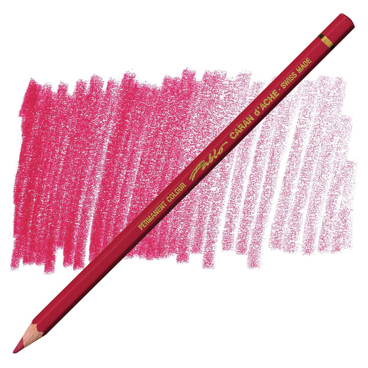 Carmine 666.080 Caran Dache Pablo Colored Pencil