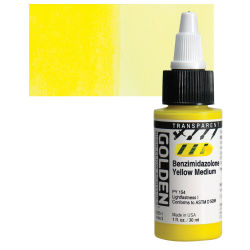 Transparent Benzimidazolone Yellow Medium