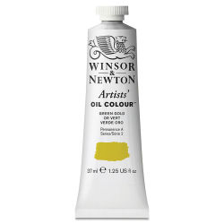 Winsor & Newton Artists' Oil Color - Green Gold, 37 ml tube