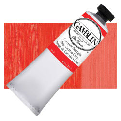 Gamblin Artist's Oil Color - Cadmium Red Light, 37 ml tube
