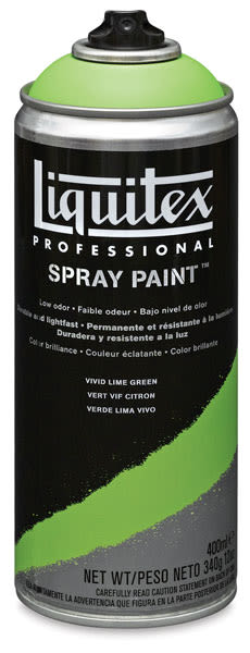 Liquitex Professional Spray Paint - Vivid Lime Green, 400 ml can