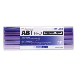 Tombow ABT PRO Alcohol Markers - Purple Tones, Set of 5