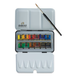 Rembrandt Artists' Watercolors - Set of 12 Pans