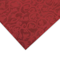 Nepalese Lokta Flower Paper - Red, 20'' x 30'', Single Sheet