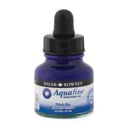 Daler-Rowney Aquafine Watercolour Ink - Phthalo Blue
