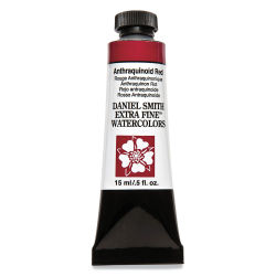 Daniel Smith Extra Fine Watercolor - Anthrquinoid Red, 15 ml Tube
