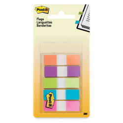 3M Post-it Flags - Bright Colors, Pkg of 5