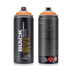 Montana Black Spray Paint - Power Orange, 400 ml can