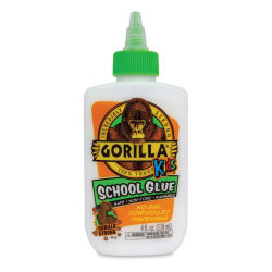 Gorilla Kids School Glue - 4 oz, Bottle