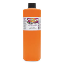 Iwata Com-Art Airbrush Color - 16 oz, Opaque Bright Orange