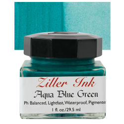 Ziller Ink - Aqua Blue Green