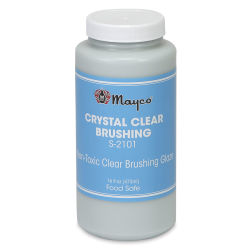 Mayco Crystal Clear Brushing Glaze, Pint