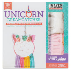 Leisure Arts Mini Maker Dreamcatcher Kit - Unicorn (Front of packaging)