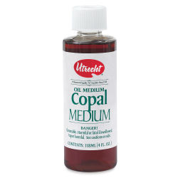 Utrecht Copal Painting Medium - 4 oz bottle