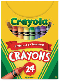 Regular Crayon Set, Set of 24