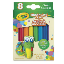 Crayola Modeling Clay - 1/4 lb Assortment, Classic Colors