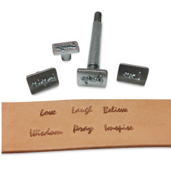 Realeather Inspirational Stamp Tool Set- Set 1