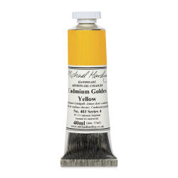 Michael Harding Artists Oil Color - Cadmium Yellow Golden, 40 ml tube