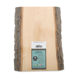 Walnut Hollow Basswood Plank - Thick, 10'' x 13-3/4'' x 1-1/2''