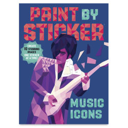 Paint By Sticker: Music Icons, Book Cover