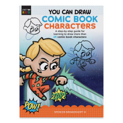 You Can Draw Comic Book Characters, Book Cover