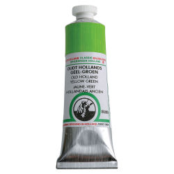 Old Holland Classic Oil Color - Old Holland Yellow-Green, 40 ml tube