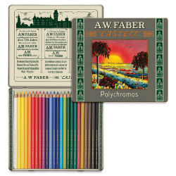 Faber-Castell Polychromos Pencil Set - Limited Edition 111st Anniversary Set of 24