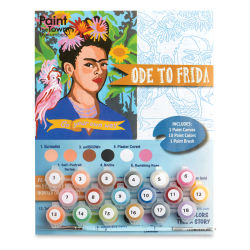 Paint The Town By Numbers Ode To Frida Kit