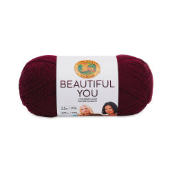 Lion Brand Beautiful You Yarn - Zinfandel