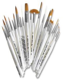 Silver Brush Ultra-Mini Brush Set