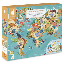 Janod Educational Puzzle, Dinosaurs