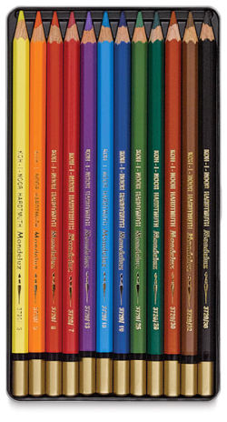 Aquarelle Pencils, Set of 12 Colors
