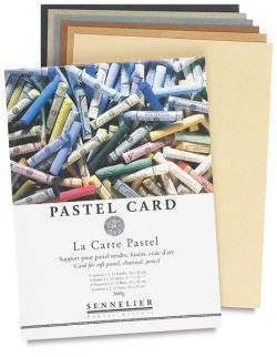 Pastel Card Pad, 12 Sheets