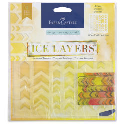 Faber-Castell Design Memory Craft Ice Layer - Arrows
