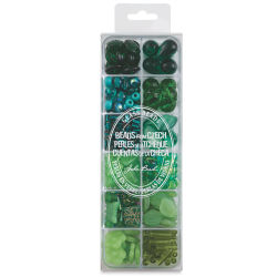 John Bead Czech Glass Bead Box Mix - The Amazon