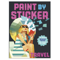 Paint By Sticker Travel, Book Cover