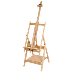 Blick Studio Convertible Easel -  Easel setup. Front Right Angle.