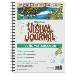 Strathmore Visual Journal - 12'' x 9'', 90 lb, Watercolor