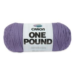 Caron One Pound Acrylic Yarn - 1 lb, 4-Ply, Lavender Blue