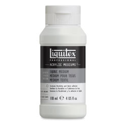 Liquitex Medium - Liquitex Fabric Medium, 4 oz bottle