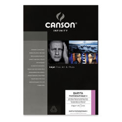 "Canson Infinity Baryta Photographique II Inkjet Paper - 13"" x 19"", 25 Sheets"